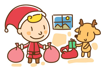 Illustration of Christmas