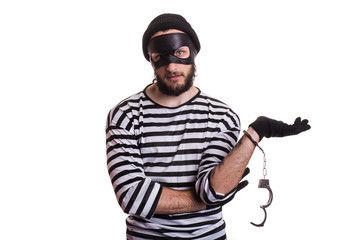 Thief arrested as a consequence of his crime