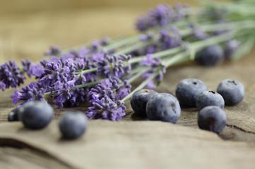 Blaubeeren, Lavendelblüten Symphonie