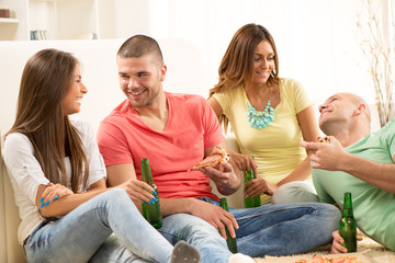 Friends enjoying time together