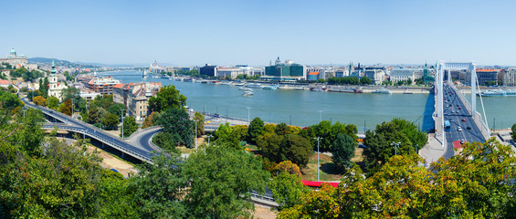Photo sur Plexiglas Ville sur l eau Panorama of Budapest