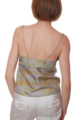 backside of slim woman