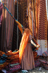 woman , textile Industry , rural Rajasthan, India