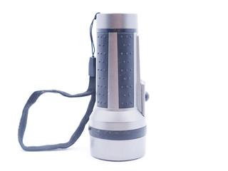 flashlight on a white background