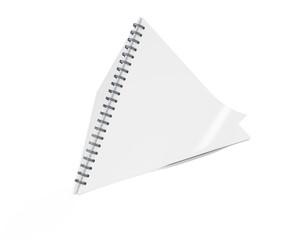 Blank Paper Calendar 3D, Pyramid Calendar