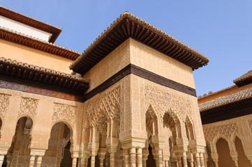 Leones at the Palacio de la Alhambra in Granada, Spain