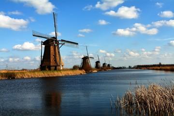 The Netherlands Kinderdijk Windmills
