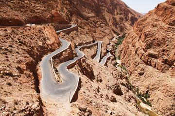 Foto op Canvas Marokko Zigzag
