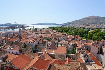 Cityscape of Trogir in Croatia