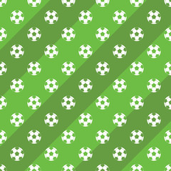 Soccer of football field background vector