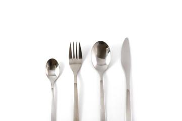 spoon fork knife set