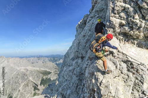 Klettersteig Watzmann : Watzmann Überschreitung atem beraubender watzmanngrat