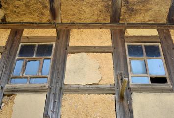 Bauernhaus aus Lehm
