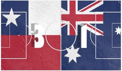 chili vs australia championship 2014 final score on field