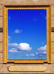 Sky in frame