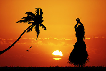 Hawaiian dance