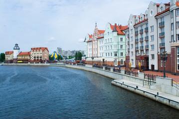 Fishers Village in Kaliningrad