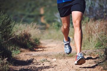 fitness trail man