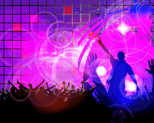 Discoteque illustration