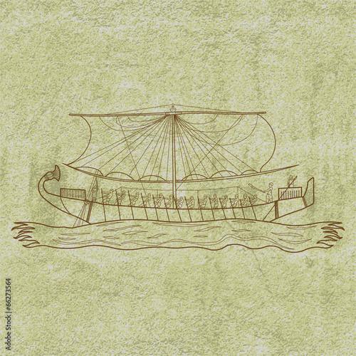 египетские лодки название
