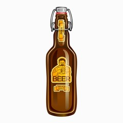 Beer in the bottle
