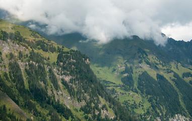 Paysage sur la route du Grossglockner