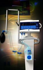 medical hospital ventilator respiratory unit