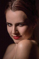 luxury woman smiling