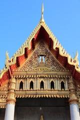 Bangkok temple - Marble Temple (Wat Benchamabophit)