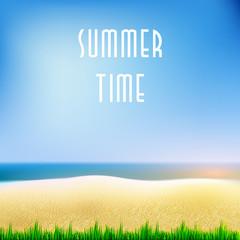 Summer background eps10   easy all editable