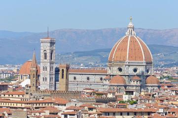 Duomo Santa Maria del Fiore - Historic centre of Florence in Ita