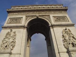 Arco del Triunfo en París