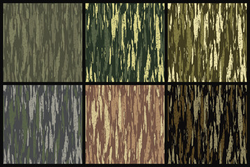 Camouflage military background, vector