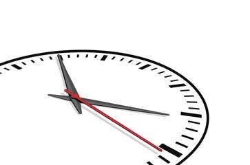Clock background, vector