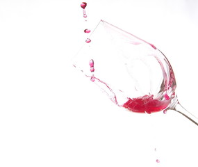Art on wine Glass