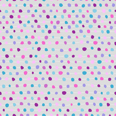 Seamless abstract background of dots and strips