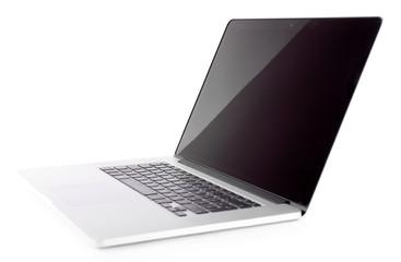 Laptop isolated on white