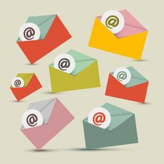 Vector Envelopes - E-mail Icons Set