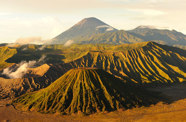 Keuken foto achterwand Vulkaan Mount Bromo Volcano of East Java, Indonesia