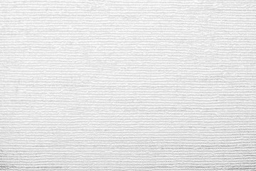 Aluminium Prints Fabric corrugated texture of white color with stamping