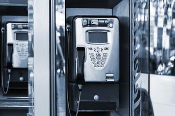 a modern payphone