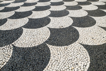 Mosaic Pavement design, Madeira