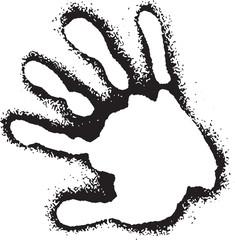 Hand Vector Clipart Design Illustration