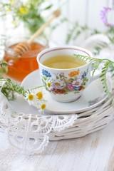 Wildflower and chamomile tea