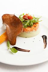 salmon tartar