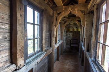inside castle greifenstein in germany
