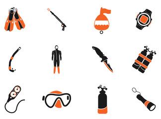 Diving symbols