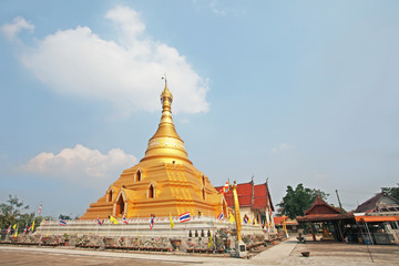 Pagoda and temple