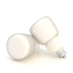Two light bulb composition