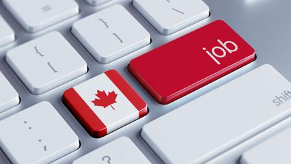 Canada Job Concept